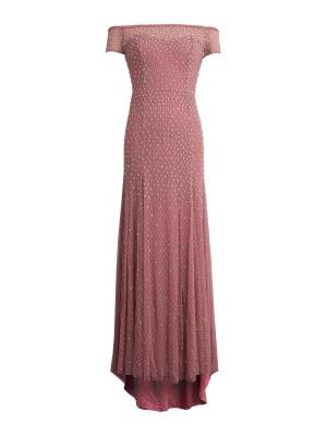 Maya Rose Pink Bardot Maxi Dress - Wholesale Pack