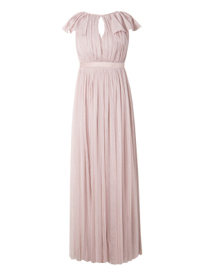 Anaya with Love Gathered Tulle Keyhole Front Maxi Dress - Wholesale Pack