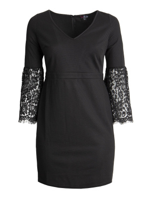 Lovedrobe Lace Sleeve Shift Dress - Wholesale Pack